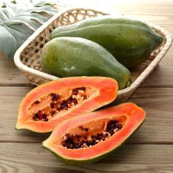 富春山農場 產銷履歷夏威夷草莓木瓜6台斤( 6-12顆)