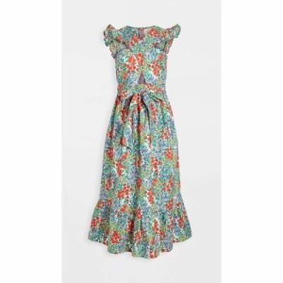 バンジャナン Banjanan レディース ワンピース ワンピース・ドレス cecil dress Cottage Garden Poppy Multi