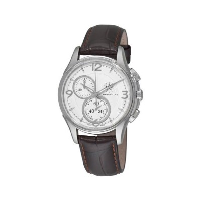 Hamilton Men's H32372555 Jassmaster Silver Chronograph Dial Watch 並行輸入品