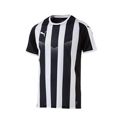 プーマ LIGA ストライプ ゲームシャツ 品番:703640 カラー:PUMA BLACK−PU(03) サイズ:M