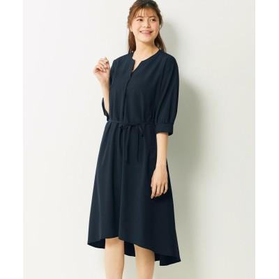 【大きいサイズ】 とろみフィッシュテールフレアワンピース ワンピース, plus size dress