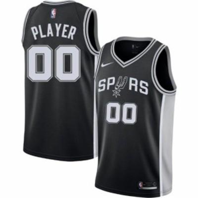 ナイキ Nike メンズ トップス ドライフィット Full Roster San Antonio Spurs Black Dri-FIT Swingman Jersey