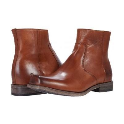 Frye フライ メンズ 男性用 シューズ 靴 ブーツ ドレスブーツ Smith Inside Zip - Caramel Antique Pull Up