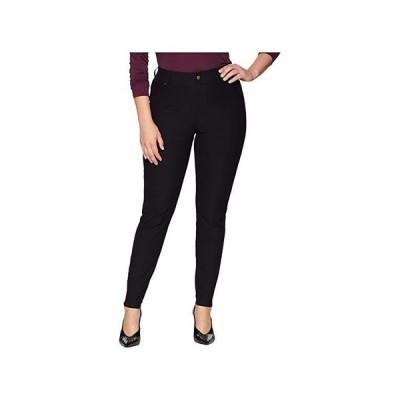 ヒュー Plus Size Essential Denim Leggings レディース ジーンズ Black