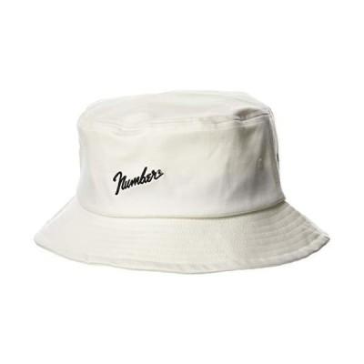 [ナンバーナイン] BUCKET HAT number? バケット ハット 20SS FREE ホワイト 120571004WHTFREE