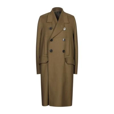 リック オウエンス RICK OWENS コート ミリタリーグリーン 48 バージンウール 80% / ナイロン 20% コート