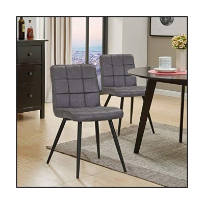 MYCO Furniture 32 in. Accent Chair in Charcoal - Set of 2
