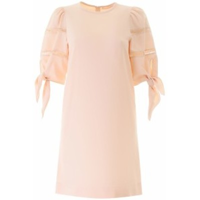 SEE BY CHLOE/シーバイクロエ ワンピース PINK SAND See by chloe dress with knots レディース 春夏2020 CHS20URO13012 ik
