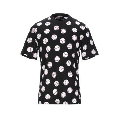 ラブ モスキーノ LOVE MOSCHINO T シャツ ブラック M コットン 100% T シャツ