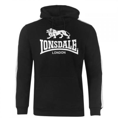 ロンズデール Lonsdale メンズ パーカー トップス 2S Oth Hoody Black/White