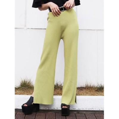 EMODA / ワイドストレートニットパンツ WOMEN パンツ > パンツ