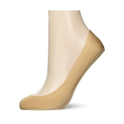 [グンゼ] 靴下 Tuche フットカバー 「縫い目ゼロ」 完全無縫製 カットオフ 浅履き 同色2足組 レディース クリアベージュ 日本 2