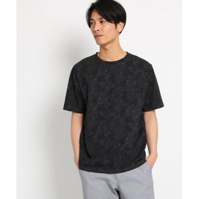 THE SHOP TK / ボタニカル総柄Tシャツ MEN トップス > Tシャツ/カットソー
