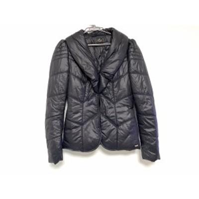 リプレイ Replay ダウンジャケット サイズXS レディース - 黒 長袖/冬【中古】20201010