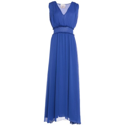 MARIUCCIA ロングワンピース&ドレス ブルー XS ポリエステル 100% ロングワンピース&ドレス