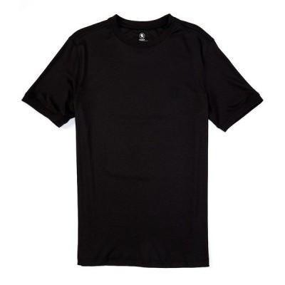 ハートシャファネールマークス メンズ Tシャツ トップス Short Sleeve Crew Tee Black