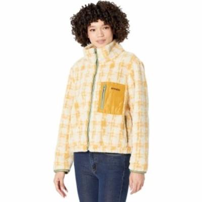 アパリス APPARIS レディース フリース トップス Kayla Fleece Coat Cyme Cadmium Yellow/Meringue