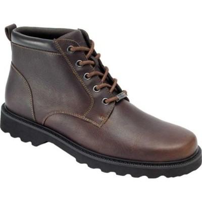 ロックポート スニーカー シューズ メンズ Northfield Plain Toe Boot (Men's) Chocolate Full Grain Leather