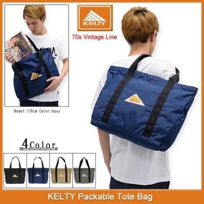 ケルティ KELTY トートバッグ パッカブル トート バッグ(kelty Packable Tote Bag 70s Vintage Line メンズ & レディース 2591970)