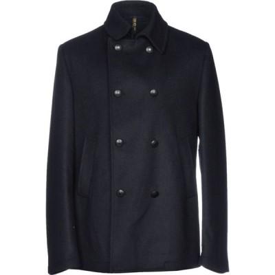 リウジョー LIU JO MAN メンズ コート アウター coat Dark blue