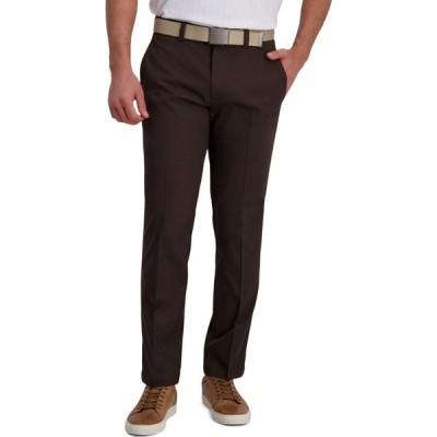 ハガー Haggar メンズ スラックス ボトムス・パンツ Classic-Fit Cool Right Performance Flex Flat-Front Solid Dress Pants Brown Heather