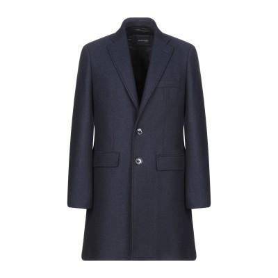 MARCIANO コート ダークブルー 56 ウール 100% コート