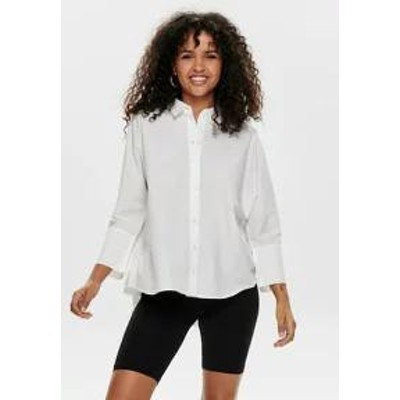 ONLY レディースブラウス ONLY Button-down blouse - white white