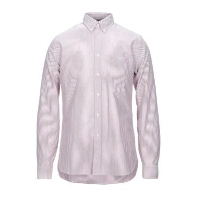 XACUS シャツ パステルピンク S コットン 100% シャツ