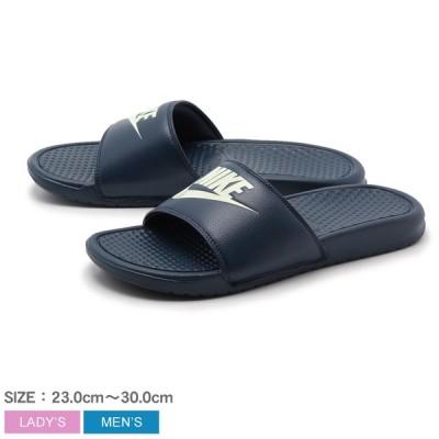 (20%以上OFF) ナイキ シャワーサンダル メンズ レディース BENASSI JDI NIKE 343880 ネイビー アウトドア プール レジャー ジム スポーツ 靴