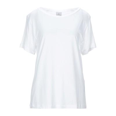 ピューテリー PEUTEREY T シャツ ホワイト 44 レーヨン 100% T シャツ