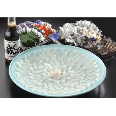 C-007 とらふぐの刺身(33cmプラ皿)
