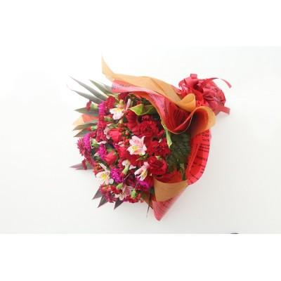 カラーが選べるお任せ花束 L 約65-70cm