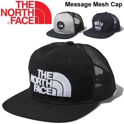 キャップ 帽子 メンズ レディース THE NORTH FACE ノースフェイス メッセージメッシュキャップ/定番 アウトドア キャンプ フェス タウン カジュアル /NN01921
