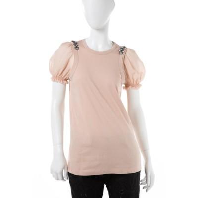 ヌメロヴェントゥーノ Tシャツ 半袖 丸首 レディース F051 4157 179 ピンク N°21