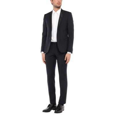 SIMON PEET スーツ ダークブルー 48 ウール 100% スーツ