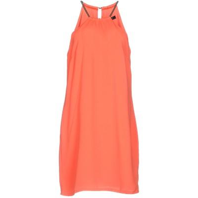 MARCIANO ミニワンピース&ドレス コーラル 38 ポリエステル 100% ミニワンピース&ドレス