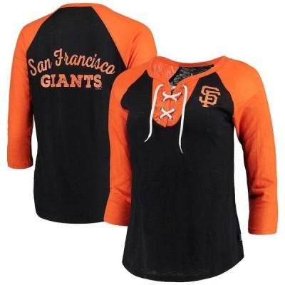 タッチ バイ アリッサ ミラノ レディース Tシャツ トップス San Francisco Giants Touch by Alyssa Milano Women's Home Run T-Shirt