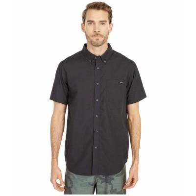 ビラボン シャツ トップス メンズ All Day Short Sleeve Woven Black