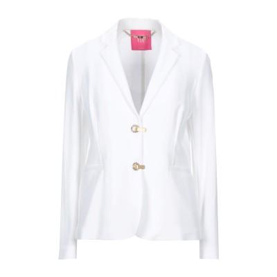 VDP CLUB テーラードジャケット ホワイト 44 レーヨン 96% / ポリウレタン 4% テーラードジャケット