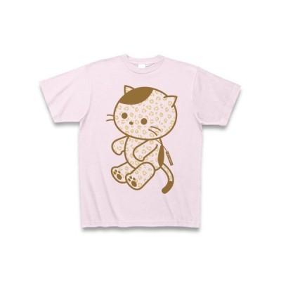テディキャットのねこ Tシャツ(ピーチ)