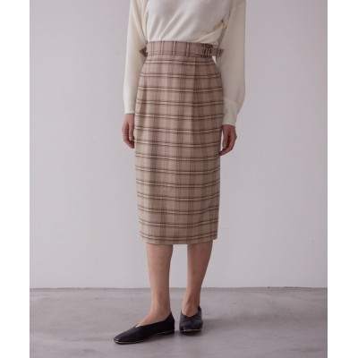 ViS / 【WEB限定Lサイズ】サイドバックルIラインスカート WOMEN スカート > スカート