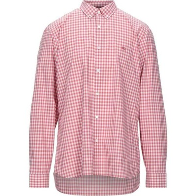 バーバリー BURBERRY メンズ シャツ トップス checked shirt Coral