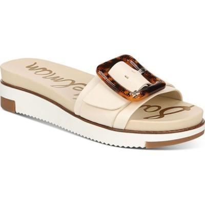 サム エデルマン Sam Edelman レディース サンダル・ミュール シューズ・靴 Ariane Buckle Sport Slides Modern Ivory