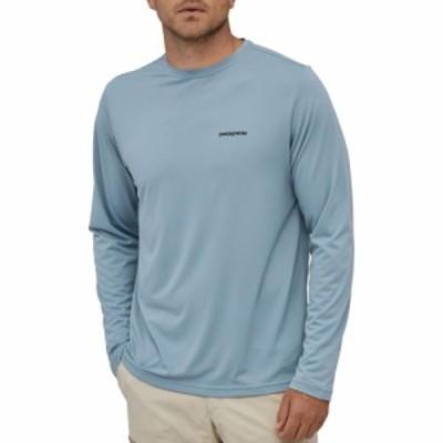 パタゴニア Patagonia メンズ トップス Fish Graphic Capilene Cool Long Sleeve Shirt SketchedFtzRyStrprBgSkyBl