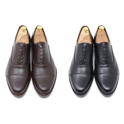 GLENFORD ハンドメイド 本革 ストレートチップ ハンドソーン ウェルテッド グッドイヤー ビジネスシューズ 男性用 靴 ブラック ダークブラウン 冠婚葬祭 723