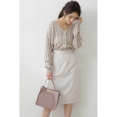◆アウトポケットワークタイトスカート:051WEB限定カラー