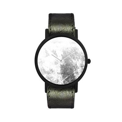 [女性用腕時計]South Lane ' Swiss Quartz Stainless Steel and Leather Casual Watch