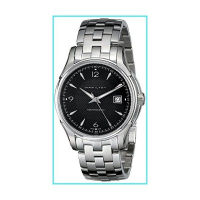Hamilton Men's H32515135 Jazzmaster Viewmatic Black Guilloche Dial Watch【並行輸入品】