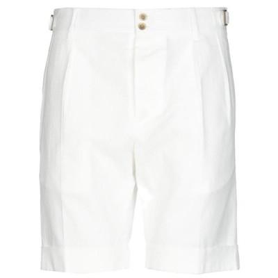 LARDINI ショートパンツ&バミューダパンツ ファッション  メンズファッション  ボトムス、パンツ  ショート、ハーフパンツ ホワイト