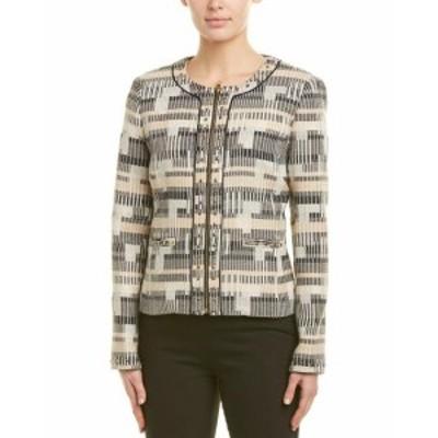 Badgley Mischka バッジリーミシュカ ファッション 衣類 Badgley Mischka Wool-Blend Jacket